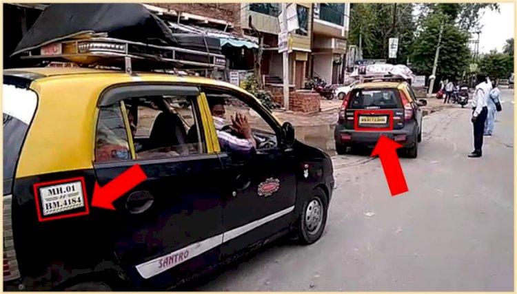 प्रतिदिन मुंबईया टैक्सियों में बाँदा से गुजर रहें हैं सैकड़ों लोग