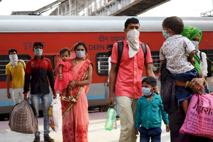 थम नहीं रहा ट्रेनों से प्रवासी मजदूरों का आना, 25 दिनों में 33 हजार आए