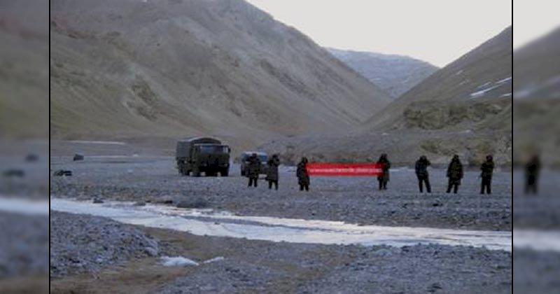 चीन ने अब डेप्सांग को बनाया नया मोर्चा