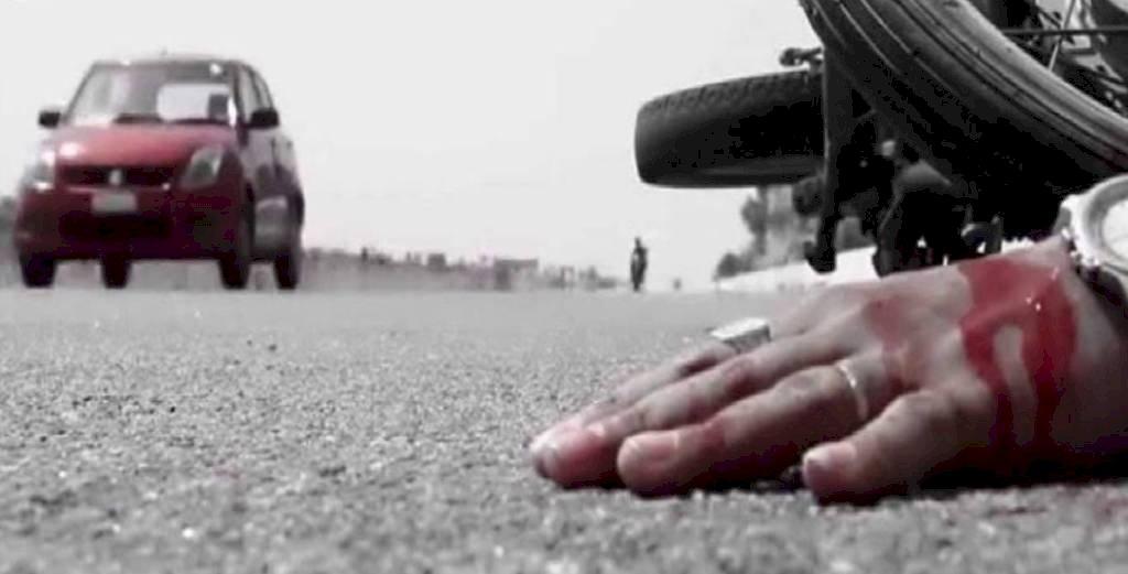 बाइकों में आमने सामने भिड़ंत,  एडीओ समेत तीन की मौत, दो घायल