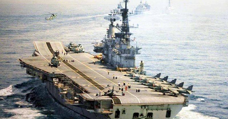 ब्रिटिश और इंडियन नेवी की सेवा करने के बाद इस युद्धपोत को आज तोड़ दिया जायेगा