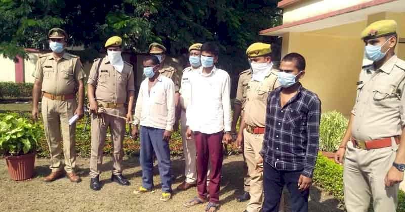 झाँसी : चार चोर गिरफ्तार बाकी की तलाश