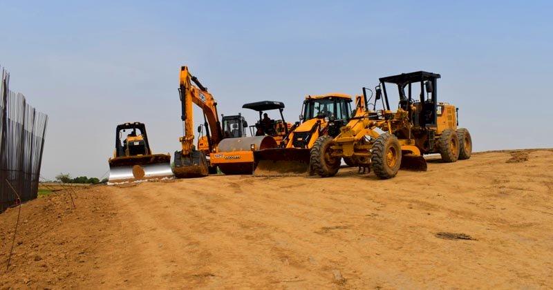 Bundelkhand Expressway Construction, बुन्देलखण्ड एक्सप्रेस-वे निर्माण कार्य
