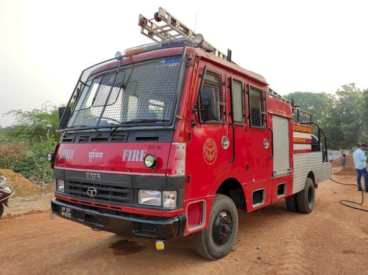 Jhansi Forest Fire
