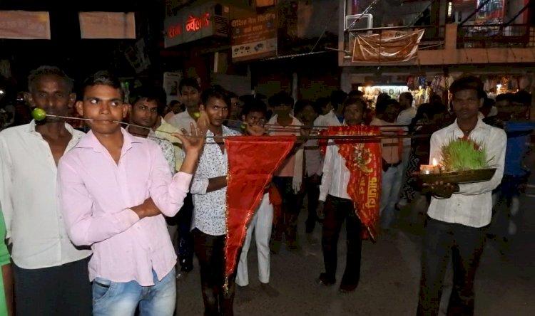 सांघों का प्रदर्शन, Banda Bundelkhand, Navratri Special, Navratri