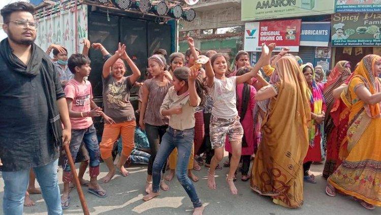 Ma Durga Visarjan banda   माँ दुर्गा विसर्जन बाँदा   Navratri