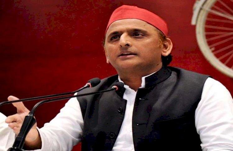 कांग्रेस की नकल कर रही भाजपा, सपा अकेले लड़ेगी विस चुनाव : अखिलेश