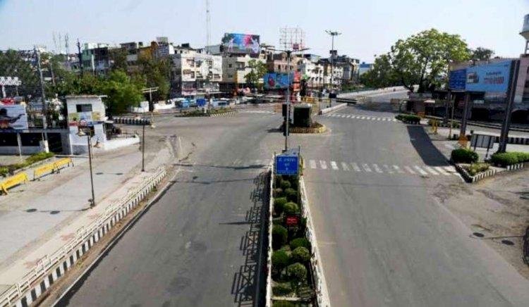 मध्य प्रदेश में सभी शहरी क्षेत्रों में इस समय रहेगा लॉकडाउन