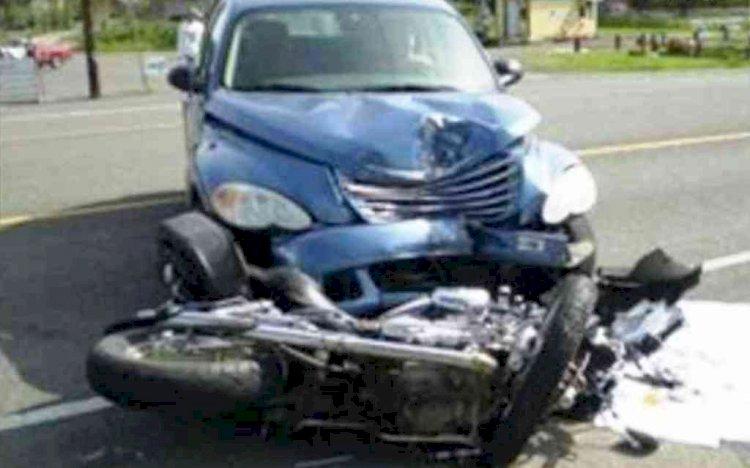 झांसीः तेज रफ्तार कार की दो बाइक से आमने-सामने भिड़ंत ,पांच की मौत