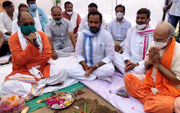 पर्यटन विकास को संकल्पित है योगी सरकार, chandrika prasad upadhyay, r ksingh patel banda chitrakoot sansad