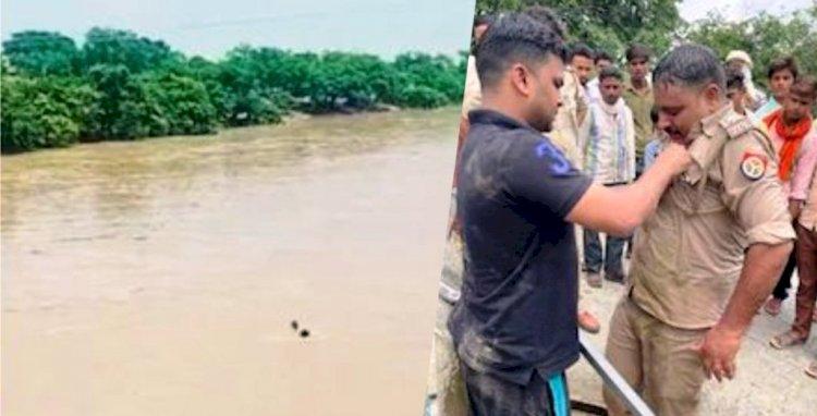 गंगनहर में डूब रहे व्यक्ति कीे जान बचाने वाले दरोगा को 50 हजार का पुरस्कार