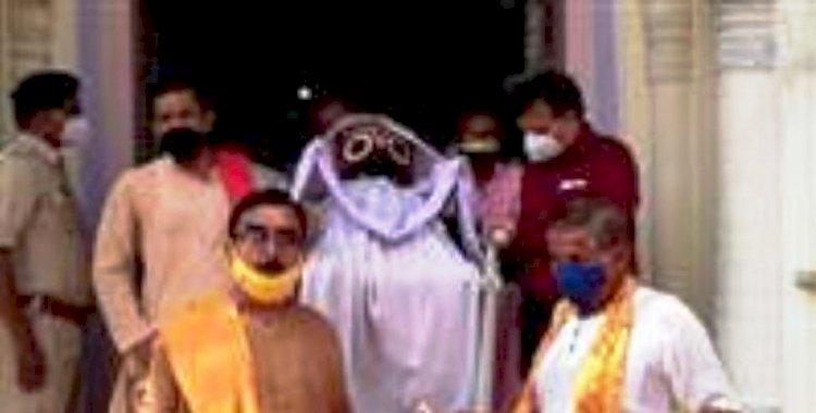पन्ना में उड़ीसा की तर्ज पर रथयात्रा महोत्सव मनाया जाता है, भगवान जगदीश स्नान यात्रा महोत्सव का आगाज