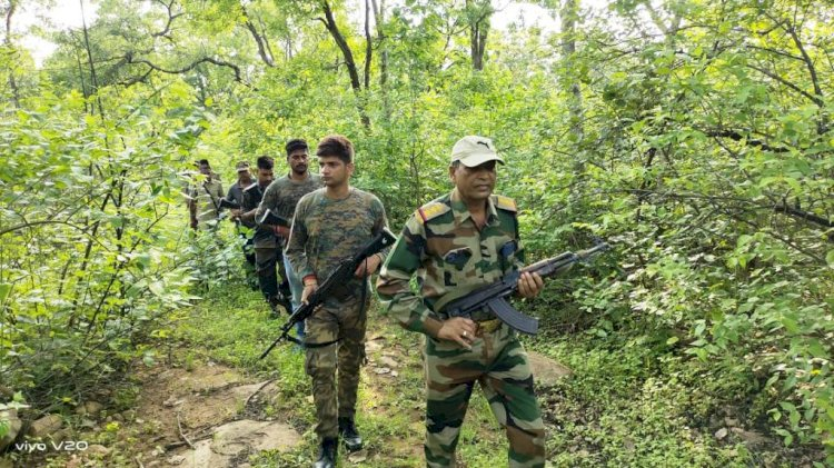 गौरी गैंग की धरपकड़ को चित्रकूट पुलिस छह टीमें जंगलों में कर रही हैं कॉम्बिंग