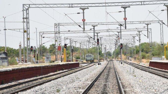 उदयपुरा-खजुराहो रेल लाइन के विद्युतीकरण को रेलवे ने हरी झण्डी दी