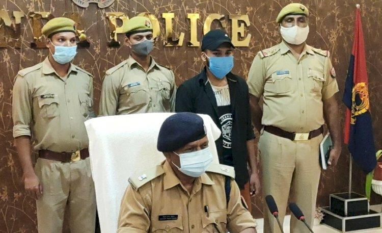 सत्रह दिन पहले अपहृत मॉडल का भाई जौनपुर में वाहन चेकिंग में पकड़ा गया
