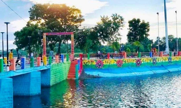बुंदेलखंड के कश्मीर में पण्डित दीनदयाल उद्यान का हुआ उद्घाटन, कई तालाबों का सुंदरीकरण