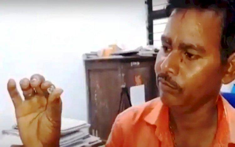 मजदूर रंक से राजा बना : रतनलाल को पन्ना में मिला हीरा